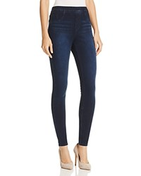 Spanx Cropped Knit Leggings Twilight Rinse