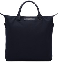Want Les Essentiels Navy Canvas Ohare Tote