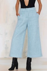 Nasty Gal Renaud Mohair Wide Leg Pants