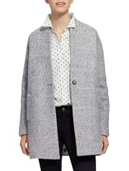 Joules Woolsthorpe Cocoon Jacket Grey