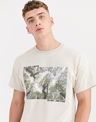 Reclaimed Vintage Oversized T Shirt With Camo Graphic Green