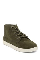 Toms Paseo Suede High Top Sneaker Green