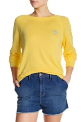 Frame Denim Le St. Jean Pullover Yellow