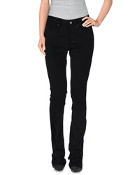 Only Denim Denim Trousers Women Black