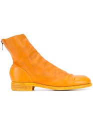 Guidi Ankle Boots Yellow Orange