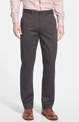 Men's Big And Tall Nordstrom Wrinkle Free Straight Leg Chinos Black Raven