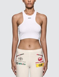 Off White Rowing Top White