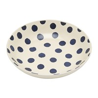 Joules Galley Grade Pasta Bowl French Navy Spot