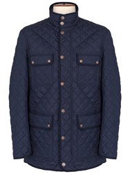 Thomas Pink Harry Quilted Jacket Navy