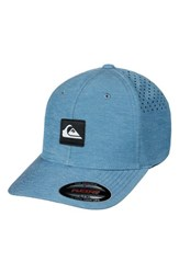 Quiksilver Union Flex Fit Baseball Cap Real Teal