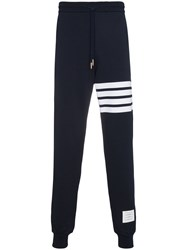 Thom Browne Engineered 4 Bar Stripe Sweatpants Blue