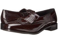 Florsheim Lexington Wingtip Tassel Slip On Wine Legacy Men's Slip On Dress Shoes Burgundy