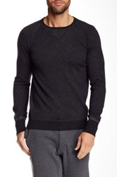Relwen Crew Neck Wool Sweater Gray
