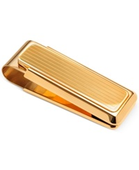 M Clip New Yorker Gold Channeled Money Clip No Color