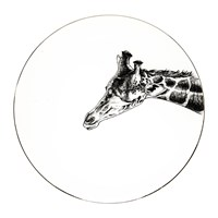 Rory Dobner Perfect Plates Geoffrey Giraffe Black And White