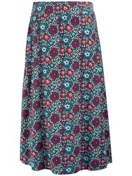 Seasalt White Sands Skirt Malo Floral Shadow