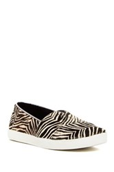 Toms Avalon Genuine Calf Hair Slip On Sneaker Multi
