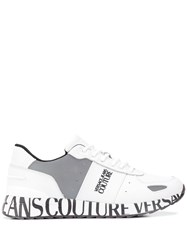 Versace Jeans Couture Logo Print Low Top Sneakers 60