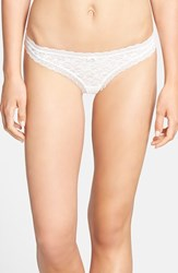 Free People Women's 'Dream' Thong Ivory