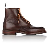 Crockett Jones And Men's Galway 2 Apron Toe Boots Brown