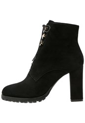 Bruno Premi High Heeled Ankle Boots Nero Black