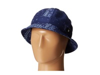 Dc Theodore Bucket Hat Indigo Paisley Bucket Caps Black