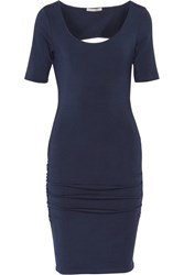 Tart Collections Jasmin Cutout Modal Blend Dress Blue