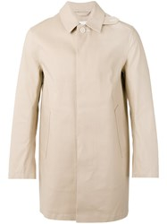 Mackintosh Single Breasted Coat Nude Neutrals