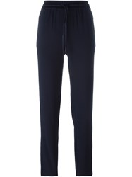 Dkny Drawstring Trousers Blue