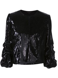 Alberto Makali Sequinned Cropped Jacket 60