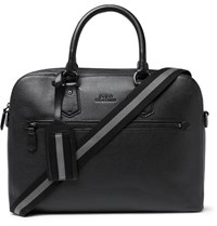 Polo Ralph Lauren Pebble Grain Leather Briefcase Black