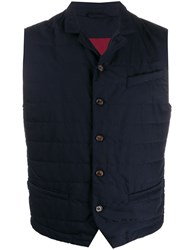 Eleventy Fitted Padded Gilet 60