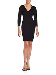 Calvin Klein Solid Sheath Dress Black