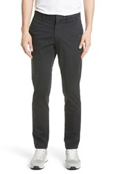 Norse Projects Men's Aros Slim Stretch Cotton Chinos Black