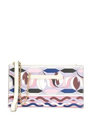 Emilio Pucci Abstract Print Clutch 60