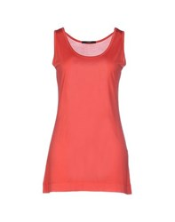 Snobby Sheep Topwear Vests Women Coral