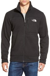 The North Face Men's 'Gordon Lyons' Zip Fleece Jacket Tnf Black Heather