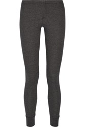Splendid Waffle Knit Leggings Dark Gray