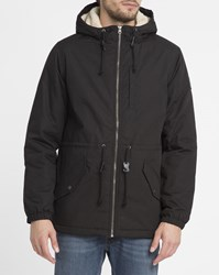 Element Black Stark Sherpa Lined Parka