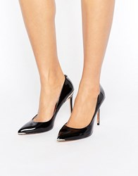 Ted Baker Kaawa Black Patent Leather Courts Black Patent Leather