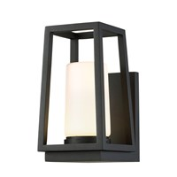 W.A.C. Lighting Hurricane Led Outdoor Wall Light Black
