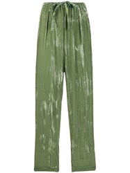 Forte Forte Straight Leg Painted Effect Trousers 60