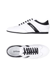 Galliano Footwear Low Tops And Sneakers White