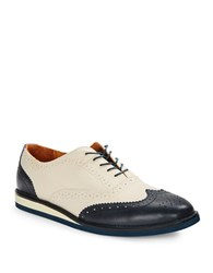 Polo Ralph Lauren Johnsly Oxfords Navy Ivory