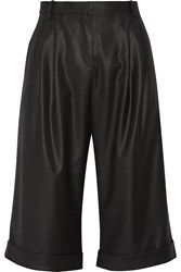 Day Birger Et Mikkelsen Pleated Twill Shorts Black