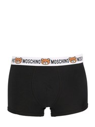 Moschino Underwear Underbear Stretch Jersey Boxer Briefs