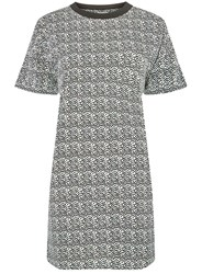 Dorothy Perkins Noisy May Monochrome Shift Dress White