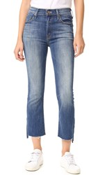 Mother The Insider Crop Step Fray Jeans Not Rough Enough
