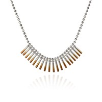 Cara Tonkin Theda Cleo Necklace Rose Gold Rose Gold Silver