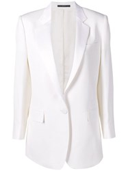 Paul Smith Black Label Classic Button Blazer White